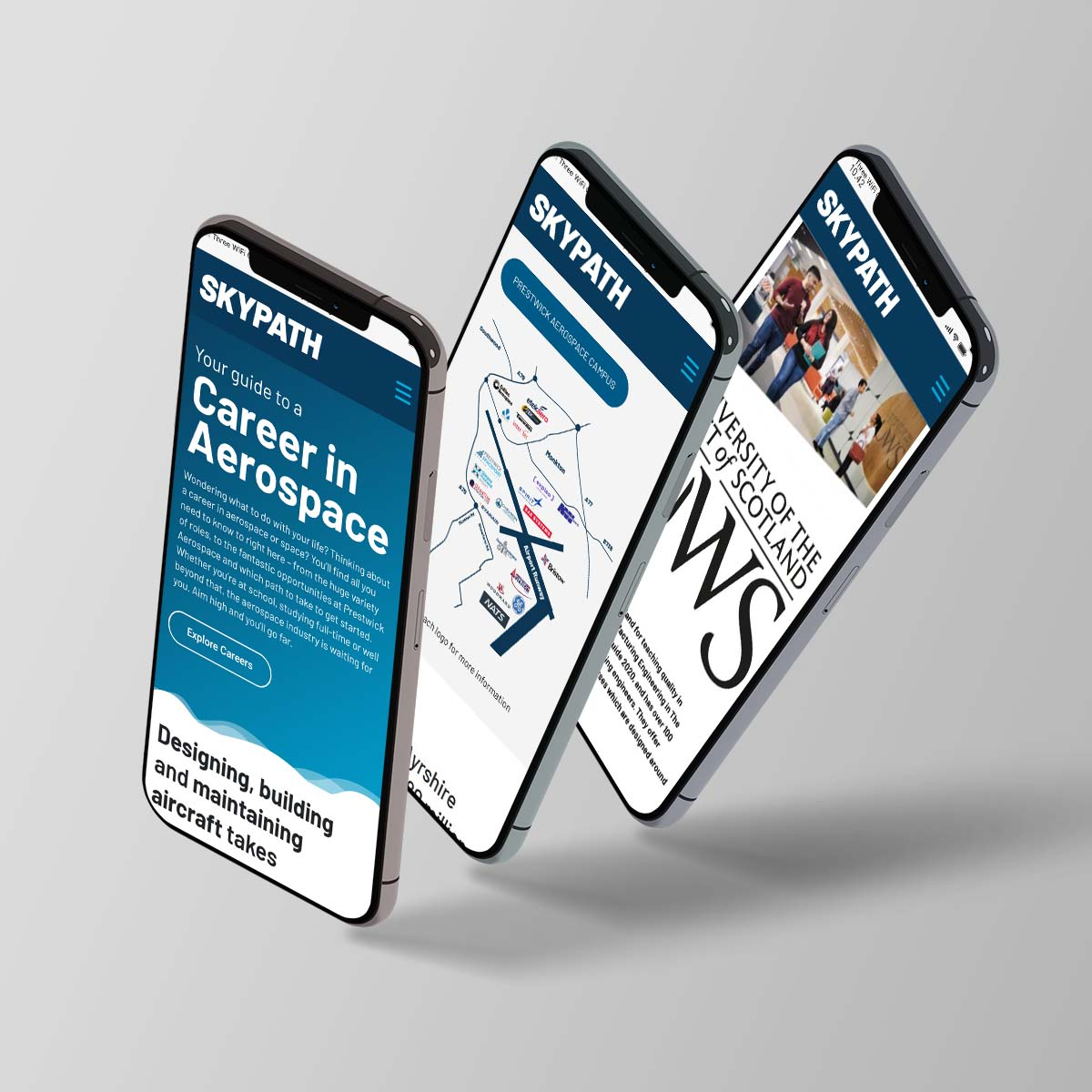 Skypath Ayrshire Website Design Prestwick