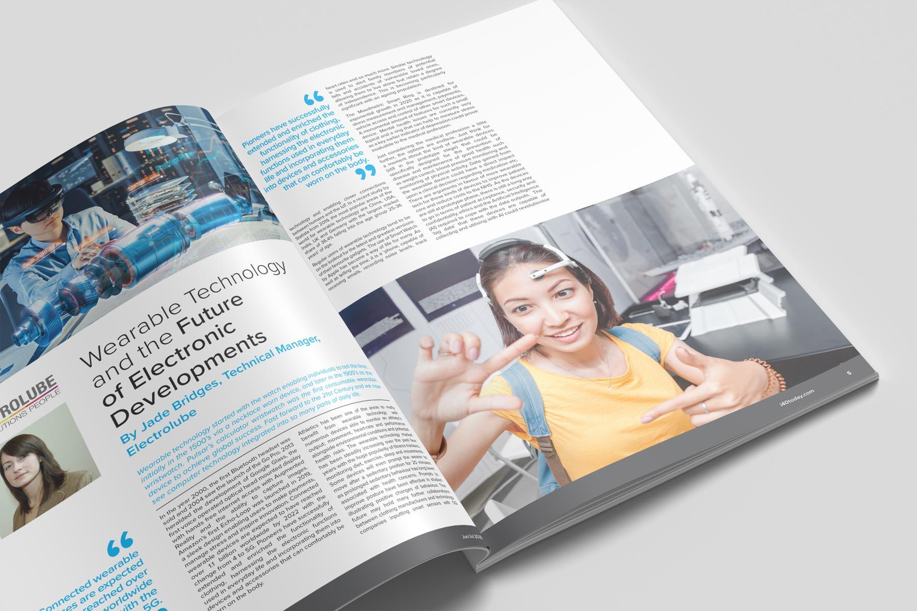 Magazine Design and Publishing