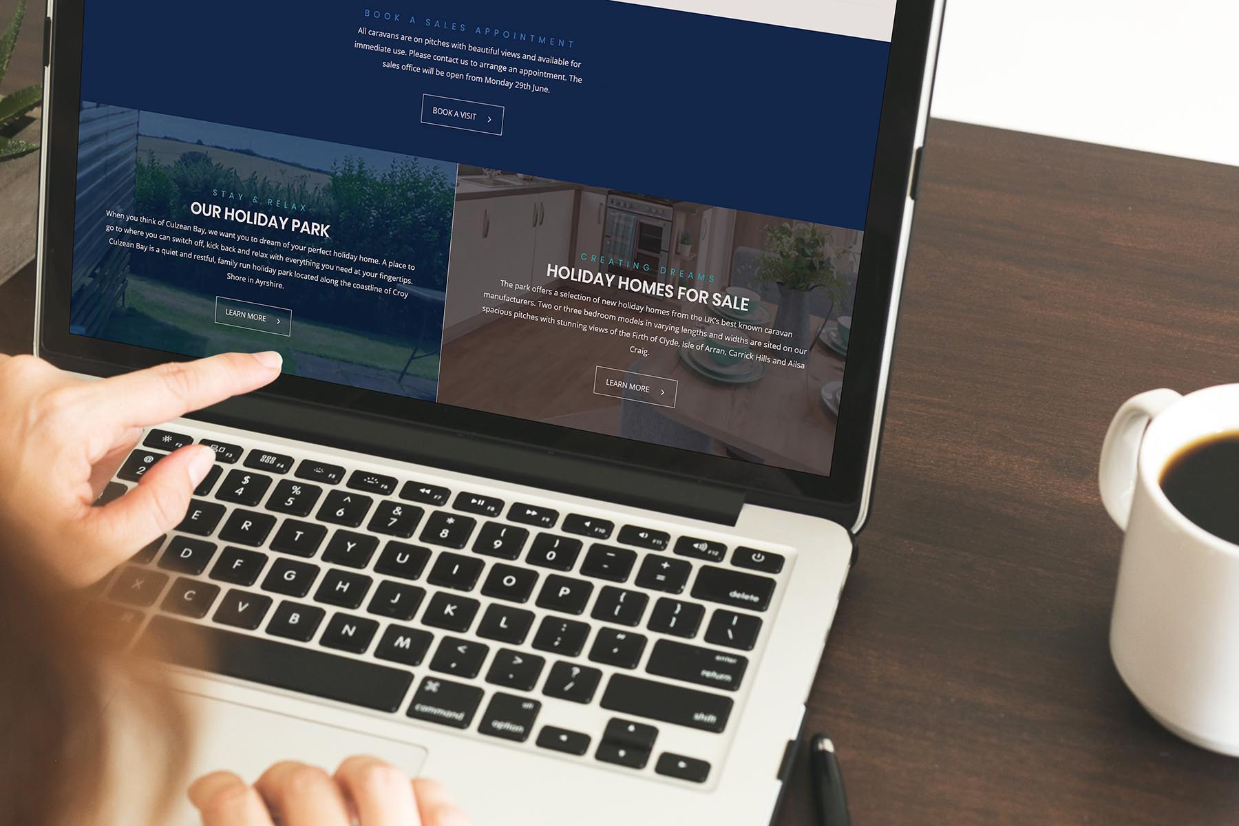 Website design Ayrshire